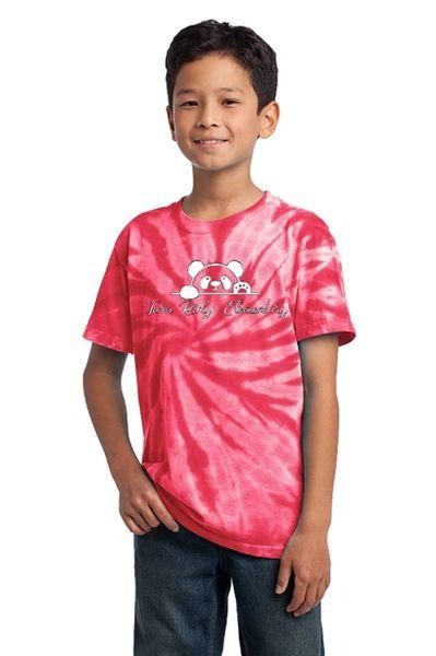 Twin Ridge- Youth Tie Dye Short Sleeve Tee