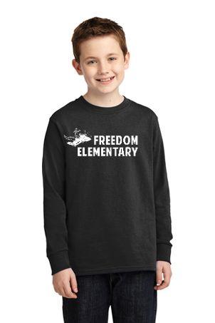 Freedom Elementary- Youth Long Sleeve Tee