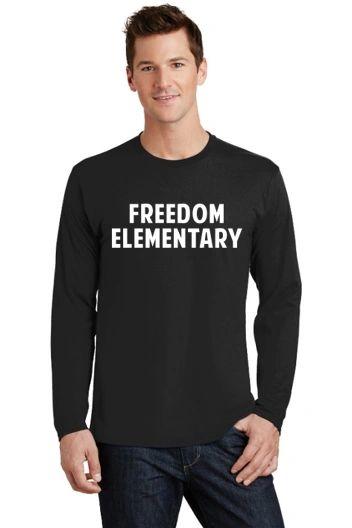 Freedom Elementary- Adult/Unisex Long Sleeve Tee