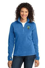 GUMC- Ladies 1/2 Zip MicroFleece
