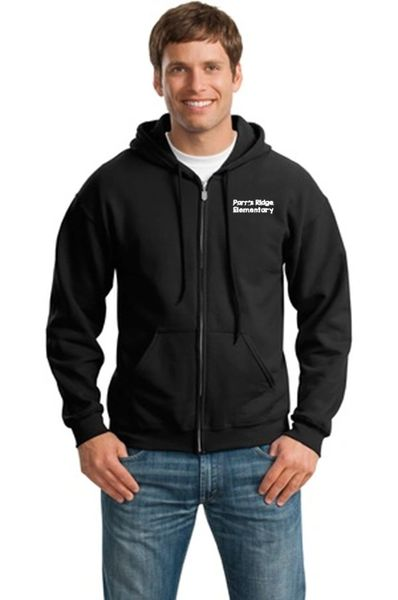 Parr's Ridge- Men's/Unisex Full Zip Hoodie