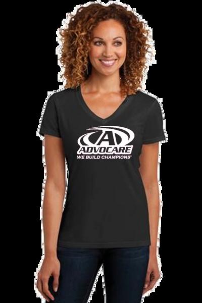 Advocare- Ladies V-neck Short Sleeve T-Shirt