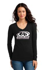 Advocare- Ladies V-neck Long Sleeve T-Shirt