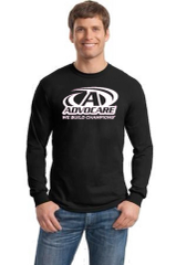Advocare- Men's/Unisex Crewneck Long Sleeve T-Shirt