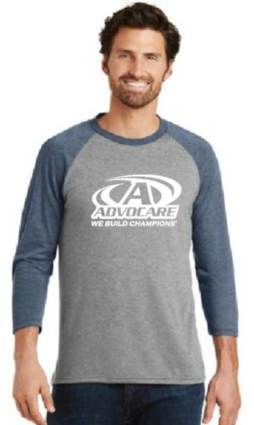 Advocare- Men's/Unisex Baseball Shirt