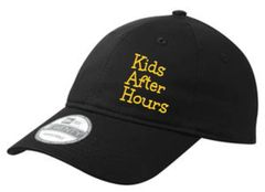 KAH Candyland- Adjustable Unstructured Hat with Text Embroidered (NE201)