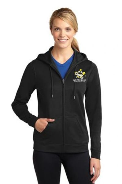KAH Checkers- Ladies Full Zip Hoodie (LST238)