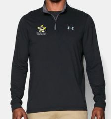 KAH Battleship- Men's UA 1/4 Zip Long Sleeve Shirt