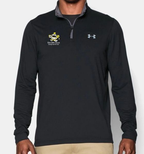 KAH Battleship- Men's UA 1/4 Zip Long Sleeve Shirt