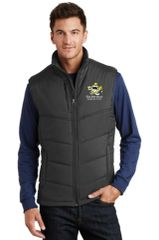 KAH Battleship- Men's Puffy Vest (J709)