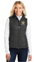 KAH Battleship- Ladies Puffy Vest (L709)