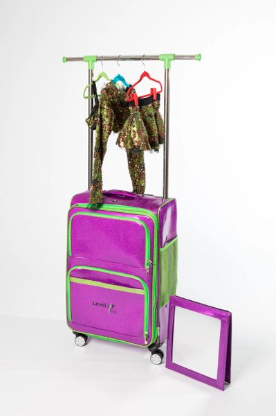 Ocho Dance Bag With Rack Carries Up To 8 Costumes Plus
