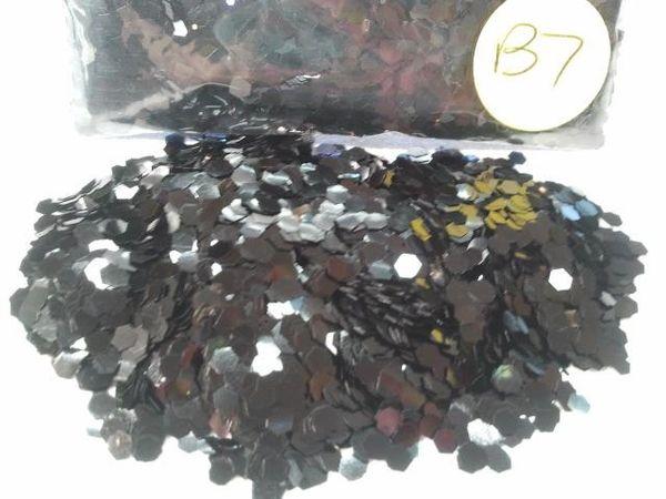 B7 New Black (.094) Solvent Resistant Glitter
