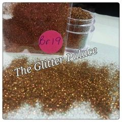 BR19 Brown Luster Iron (.008) Solvent Resistant Glitter