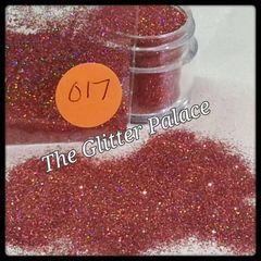 O17 Holo Rose (.008) Solvent Resistant Glitter