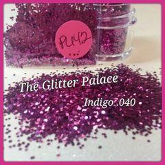 PU42 Indigo (.040) Solvent Resistant Glitter