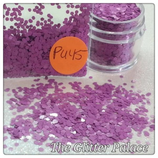 PU45 Aster Purple (.062) Solvent Resistant Glitter