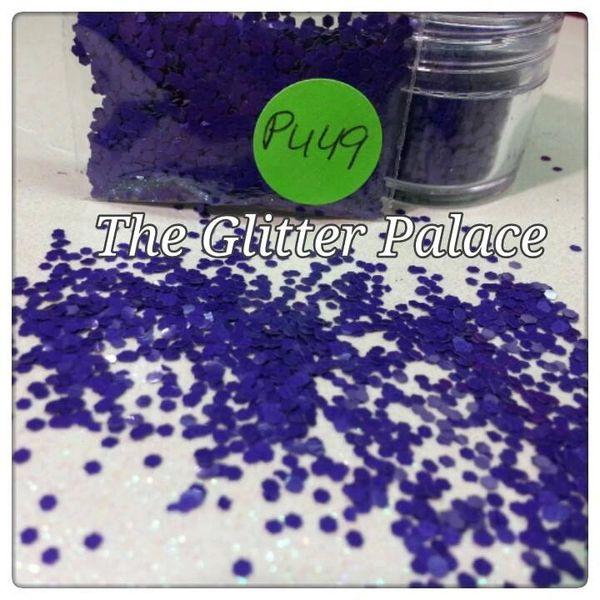 PU49 Yarrow Violet (.062) Solvent Resistant Glitter
