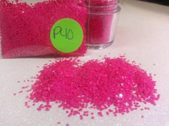 P40 Veronica Red (.040) Solvent Resistant Glitter