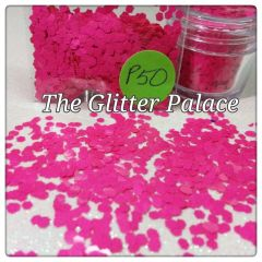 P50 Veronica Red (.094) Solvent Resistant Glitter