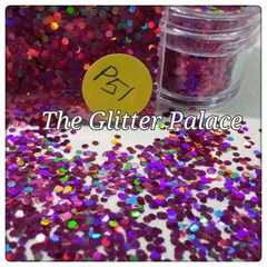 P51 Lotus Red (.062) Solvent Resistant Glitter