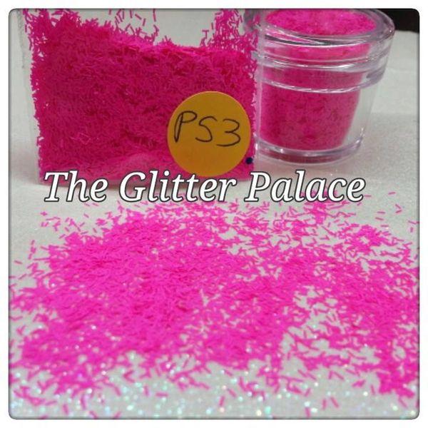 P53 Neon Magenta (Fibers) Solvent Resistant Glitter