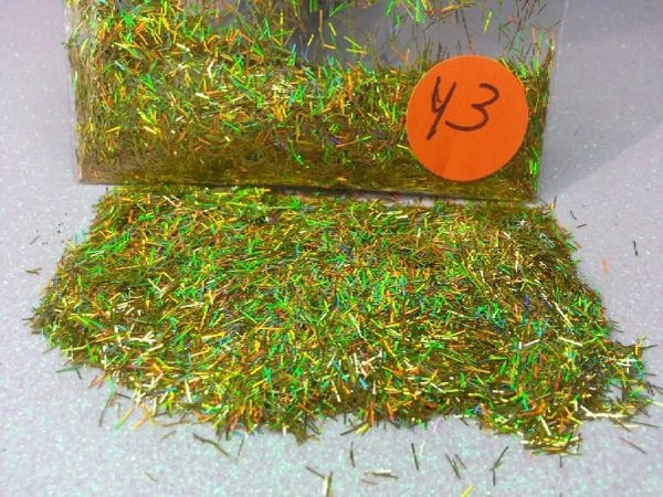 Y3 Holo Chartrause (Fibers) Solvent Resistant Glitter