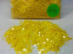 Y10 Ivy Yellow (.062) Solvent Resistant Glitter