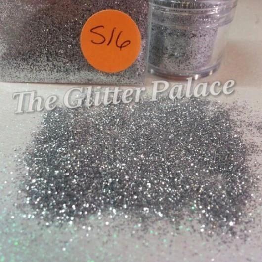S16 Bright Silver (.008) Solvent Resistant Glitter