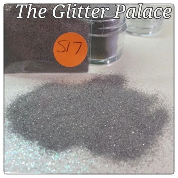 S17 Moon Gray (.008) Solvent Resistant Glitter