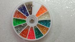 Rhinestone Wheel Large #5 (12 color A/B rhinestone)