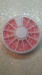 Rhinestone Wheel #7 (Pink 4 mm A/B rhinestone