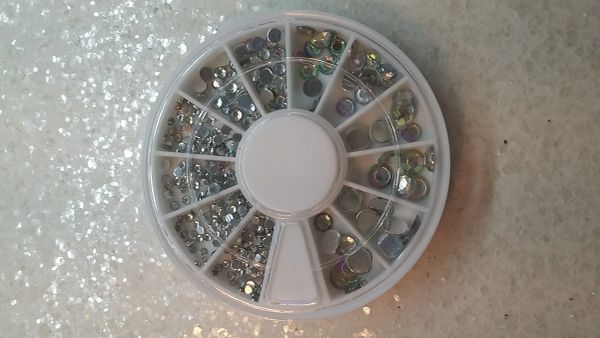 Rhinestone Wheel #9 (mixed sizes)