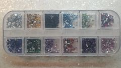 Rhinestone Bar #10 (rhinestones in 12 colors))