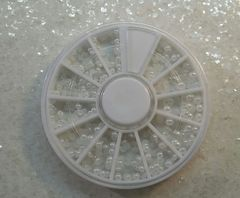 Pearl Wheel #2 (all white in different sizes)