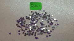 Rhinestone #R161 (purple heart rhinestone)(One pack)