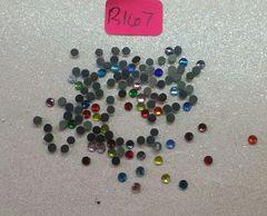Rhinestone #R167 (2.5 mm rhinestone mix)