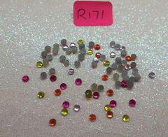 Rhinestone #R171 (2.5 mm rhinestone mix)