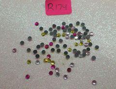 Rhinestone #R174 (2.5 mm rhinestone mix)