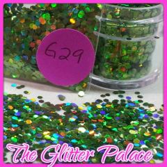 G29 Holo Parrot Green (.062) Solvent Resistant Glitter