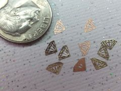 MI25 Gold Diamond (24k very thin metal decoration) (25 pieces)