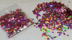 IN8 Holographic Pink Butterfly Glitter Insert (1.5 gr baggie)