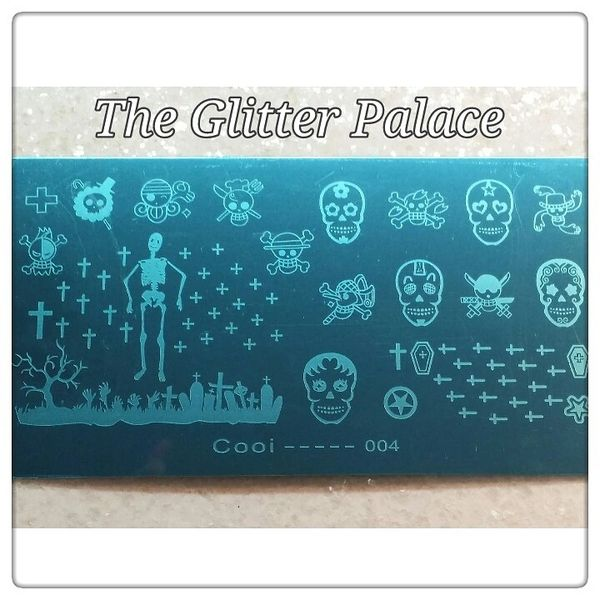 Stamping Plate (Cool004) (Halloween Plate)