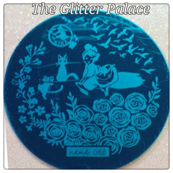 Stamping Plate (hehe068)
