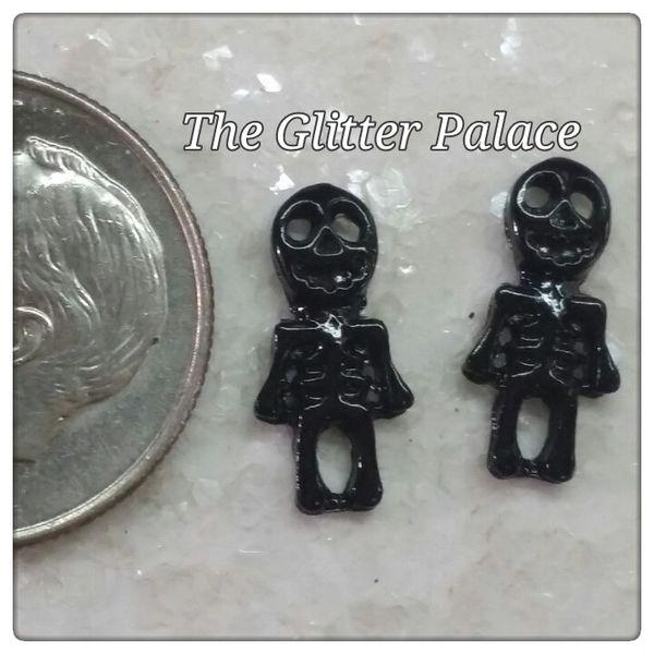 3D Black Skeleton #1 (pack of 2)