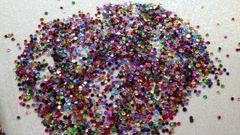 #IN33 Metallic Mix Dots, Glitter Insert (1.5 gr baggie)