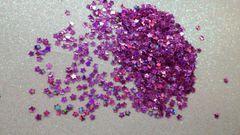 IN48 Holo Pink Star Glitter Insert (1.5 gr baggie)