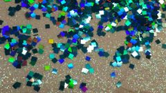 IN94 Square Glitter Insert (1.5 gr baggie)