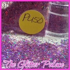 PU50 Holo Violet (Fibers) Solvent Resistant Glitter