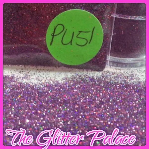 PU51 Holo Garnet (.008) Solvent Resistant Glitter